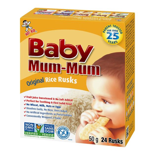 Baby Mum Mum: First Rice Rusk - Original (36g)