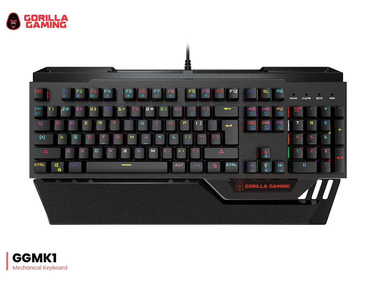 Gorilla Gaming Mechanical Keyboard for PC image
