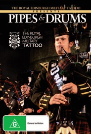 Pipes & Drums Of The Royal Edinburgh Military Tattoo on DVD