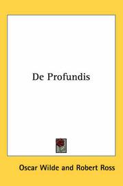 De Profundis by Oscar Wilde image