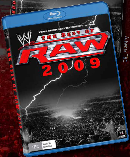 WWE Raw: The Best of 2009 (2 Disc Set) on Blu-ray image