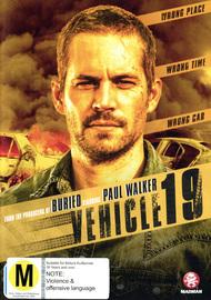 Vehicle 19 on DVD