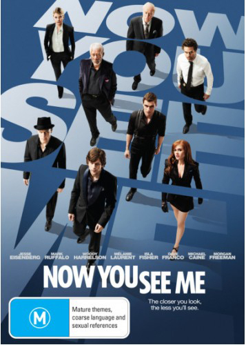 Now You See Me on DVD
