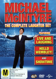 Michael McIntyre Live - Triple Pack DVD