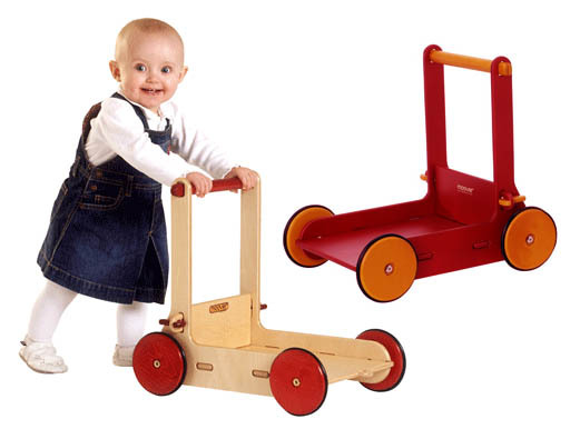 Moover Baby Walker - Red image