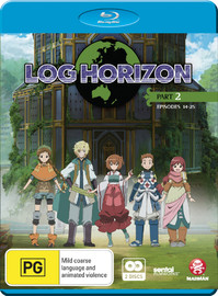 Log Horizon - Part Two on Blu-ray