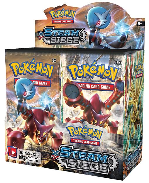 Pokemon TCG XY Steam Siege Booster Box