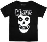 Sourpuss Black Misfits Logo T-Shirt (4T)