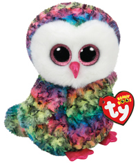 Ty: Beanie Boo's (Owen Owl, Medium)