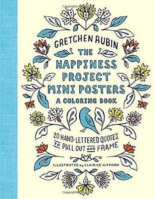 The Happiness Project Mini Posters by Gretchen Rubin
