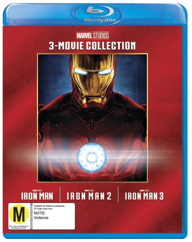 Iron Man: 3 Movie Collection on Blu-ray
