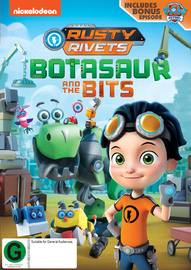Rusty Rivets: Botasaur And The Bits on DVD
