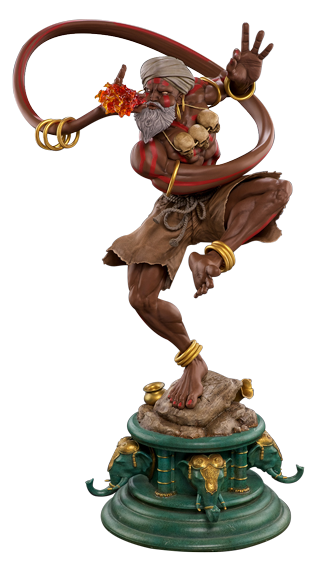 Streetfighter V - Dhalsim 1:4 Scale Statue