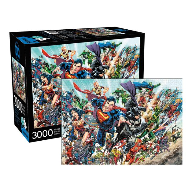 DC Comics Cast 3000pc Puzzle