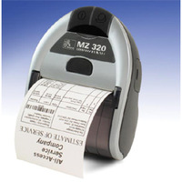 Zebra MZ320 Portable Printer USB/BT image