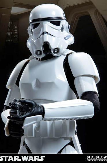 "Star Wars 1/4 Scale 19.5"" Premium Format Figure - Stormtrooper image"