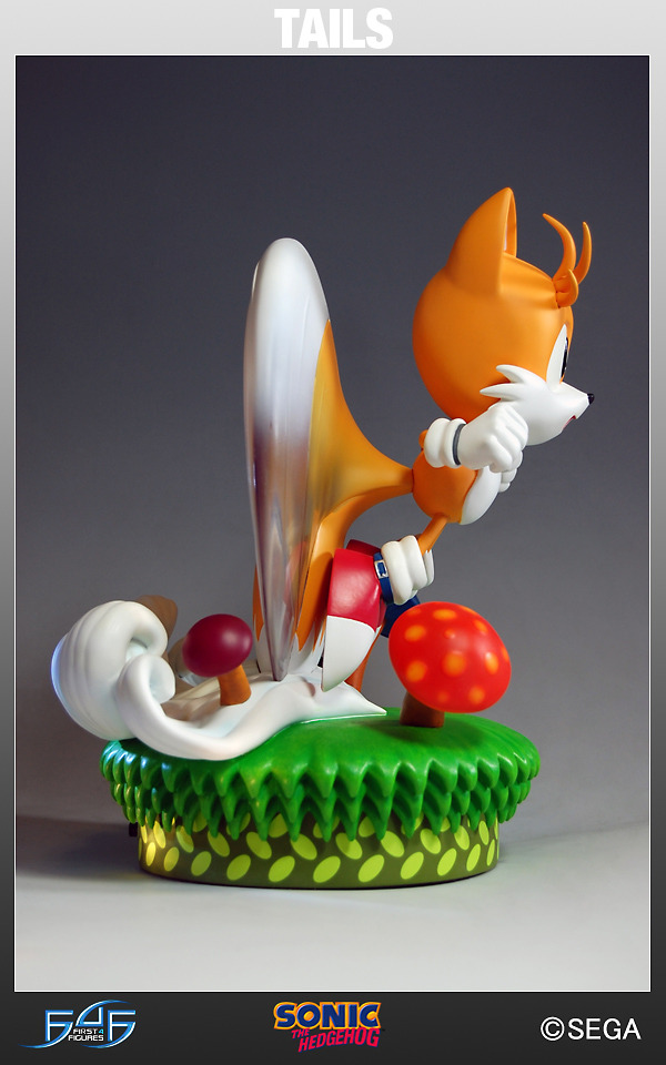 "Sonic the Hedgehog 12"" Statue - Tails the Fox (Limited Ed. 1500!) image"