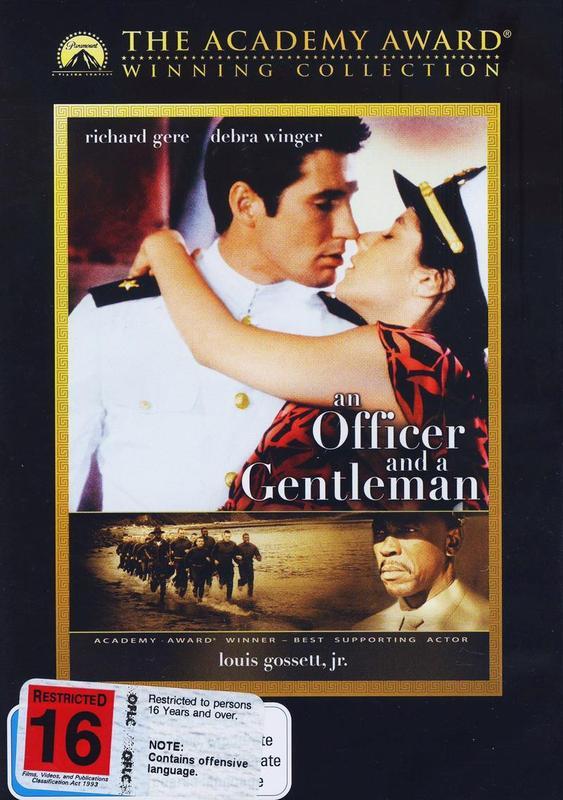 An Officer & A Gentleman on DVD