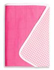 Brolly Sheets Single Size Sheet Bed Pad - Pink