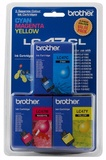 Brother LC47CL Colour Pack Ink Cartridges - 3 Pack