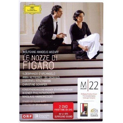 Mozart - Le Nozze di Figaro - Anna Netrebko on DVD image