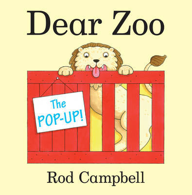 The Pop-Up Dear Zoo by Rod Campbell image