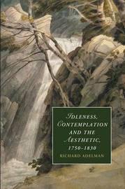 Cambridge Studies in Romanticism: Series Number 89 by Richard C. Adelman