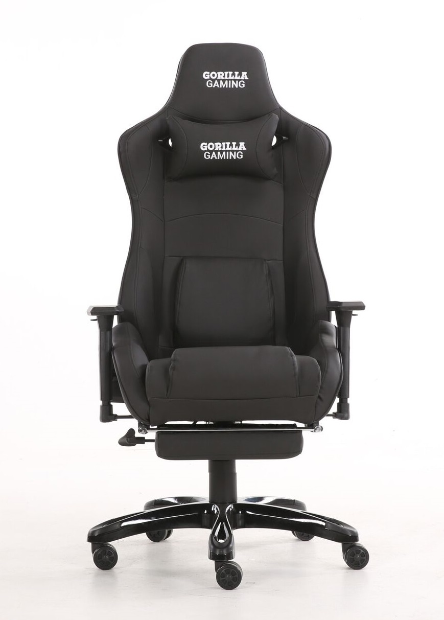Gorilla Gaming Prime Ape Chair - Black for  image