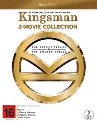 Kingsman Double Pack on Blu-ray