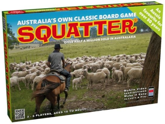 Squatter - The Board Game image