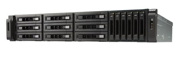 QNAP TVS-1582TU-i7-32G NAS,9+6 BAY(NO DISK),32GB,I7-7700,T-BOLT3,GbE(4),10GbE(2),2U,2YR