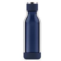 Asobu: Inner Peace Glass Water Bottle (Blue)