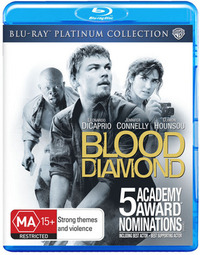 Blood Diamond - Platinum Collection on Blu-ray