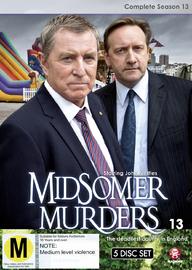Midsomer Murders - The Complete Thirteenth Season on DVD image