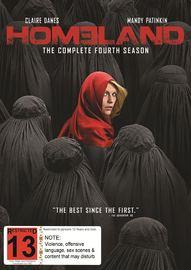 Homeland - Season 4 on DVD