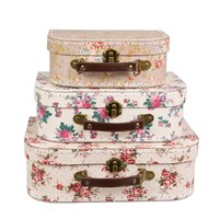 Vintage Rose - Suitcase Set