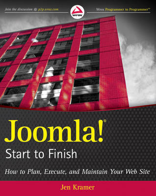 Joomla! Start to Finish by Jen Kramer