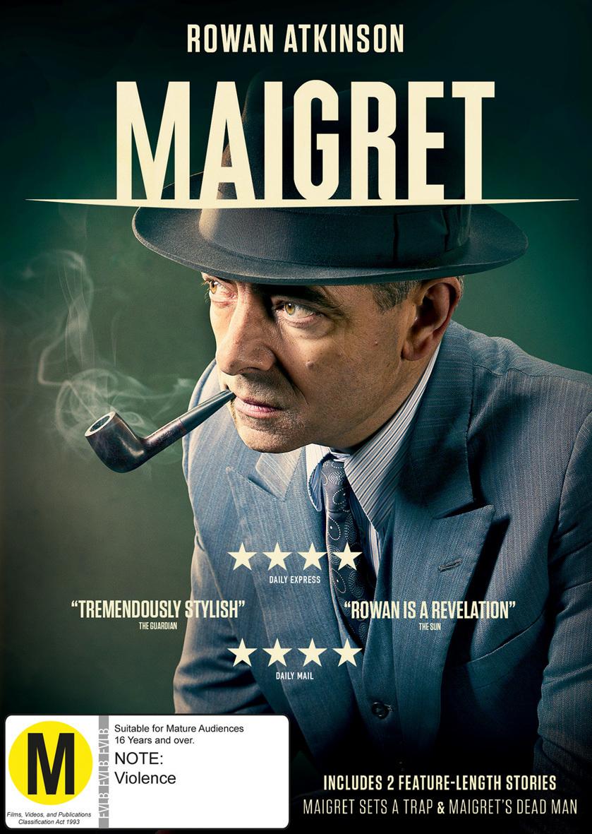 Maigret on DVD image