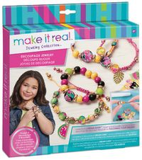 Make it Real - Decoupage a Bead Jewellery