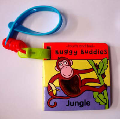 Touch & Feel Buggy Buds:Jungle by Jo Lodge
