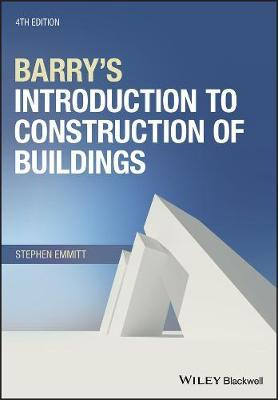 Barry's Introduction to Construction of Buildings by Stephen Emmitt image