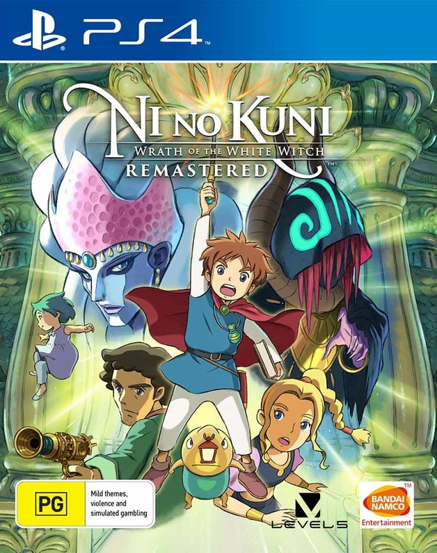 Ni no Kuni: Wrath of the White Witch Remastered for PS4