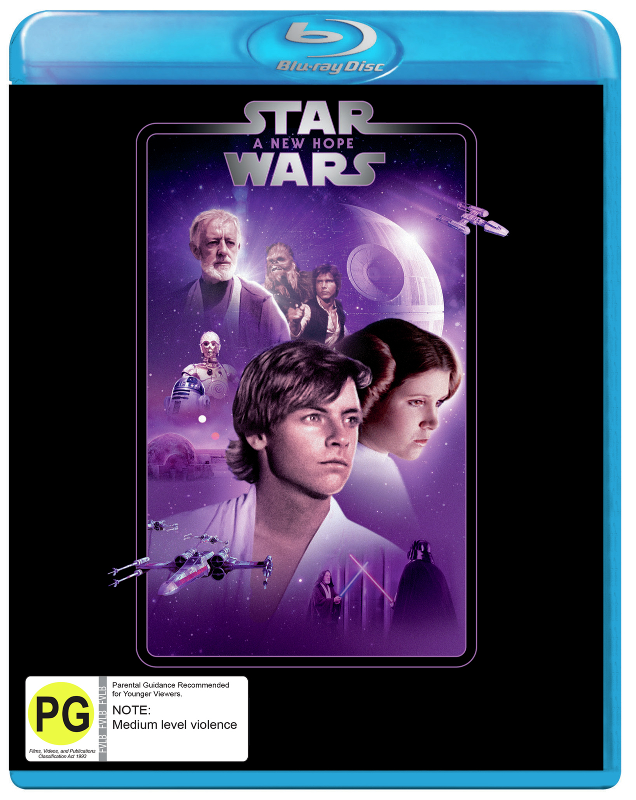 Star Wars: Episode IV - A New Hope on Blu-ray image