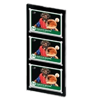 Ultra Pro: One Touch - 3 Card Magnetic Closure (Black Border)