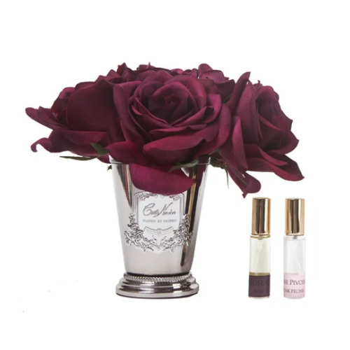 Cote Noire: Seven Roses Fragrance Diffuser - Carmine Red