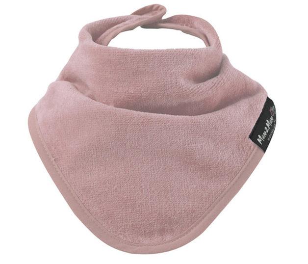 Mum 2 mum: Bandana Wonder Bib - Dusty Pink