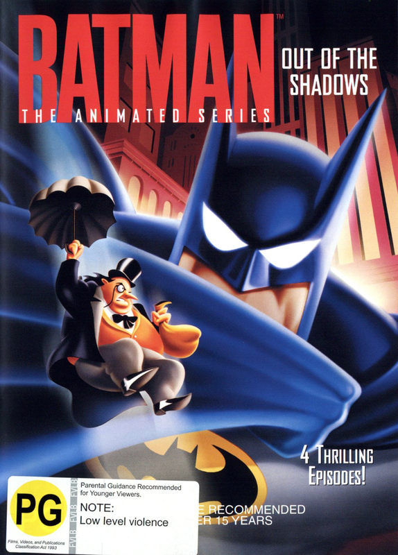 Batman - The Animated Series: Out Of The Shadows on DVD