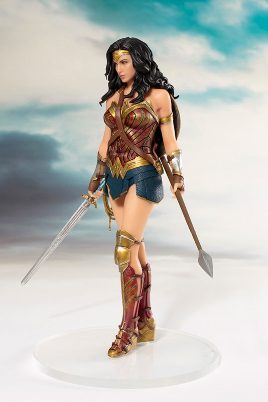 Justice League : 1/10 Wonder Woman - Artfx+ Figure Set image
