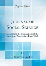 Journal of Social Science by Unknown Author image