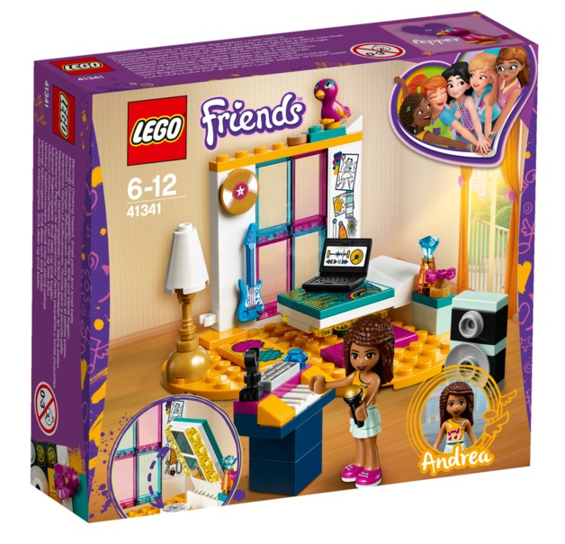 LEGO Friends - Andrea's Bedroom (41341)